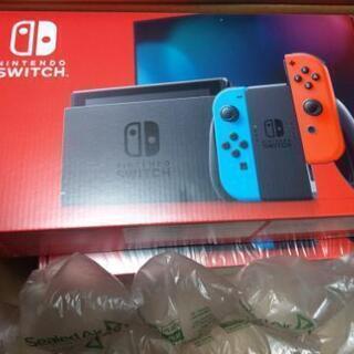 Nintendo Switch本体(バッテリー性能向上版) ソフト色々