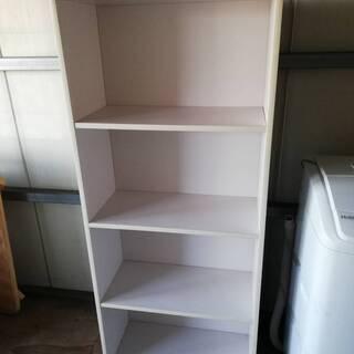【012102】カラーボックス 棚 白 ホワイト 幅60㎝…