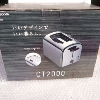 TESCOM◆トースター Metal Line CT2000
