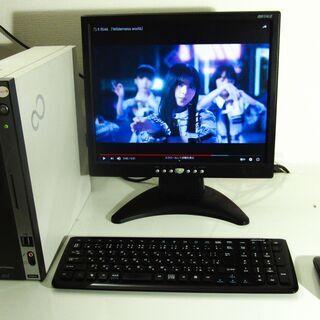 富士通 esprimo デスクトップ PC スリム型