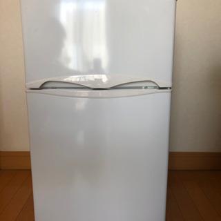 【受け渡し決定済】ノジマ 2ドア冷凍冷蔵庫 82L