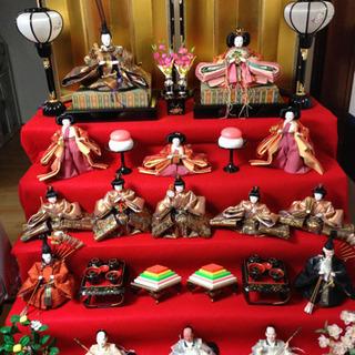 【ネット決済】雛人形七段飾り(京雛式)