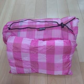 『値下げ』【引き取り希望】AIPine  DESGN  封筒型寝袋『枕付』 - 売ります・あげます