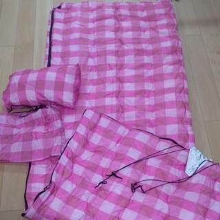 『値下げ』【引き取り希望】AIPine  DESGN  封筒型寝袋『枕付』の画像