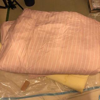 布団セット  敷布団、掛け布団、枕、各カバー
