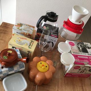 コーヒードリッパー、コーヒー&ティーサーバーなどキチン用品まとめ