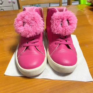 美品❣️H&M 女の子 かわいい靴 19センチ(152)