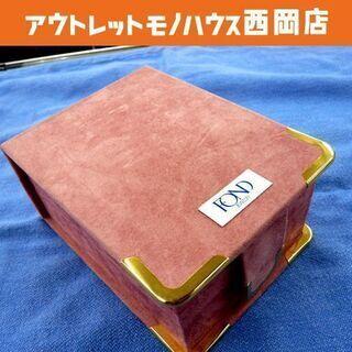 ジュエリーケース FOND ベロア素材 ピンク 西岡店