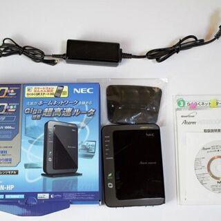 無線ルーター NEC Aterm PA-WR9500N-HP 中古