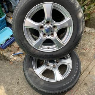 15インチ タイヤ アルミホイール4本セット 195/65R15...