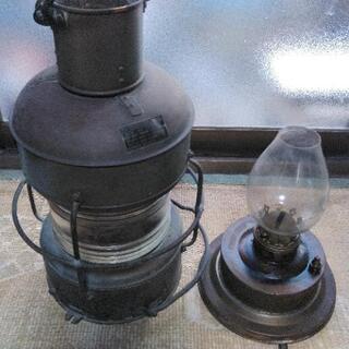 日本船燈 【紅燈】油用 日船式 第3号 - 家具