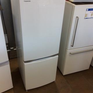 TOSHIBA 2ドア小型冷凍冷蔵庫 GR-M15BS