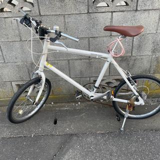 【受渡予定決まりました】ミニベロ 自転車 難あり