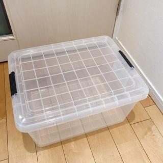 クリア収納ボックス