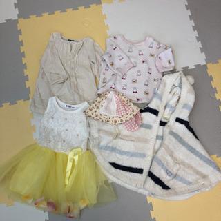 80サイズ女の子洋服セット