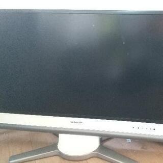 シャープのアクオス32型テレビ