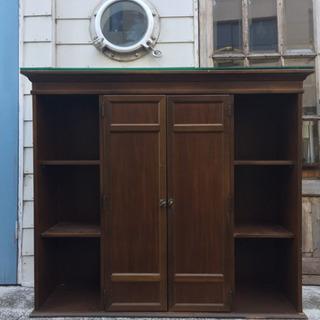 三段木製棚 ショーガラス付き 4000円→2500円→1,000円