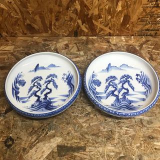 (5046-0)有田焼 山徳窯 山水図 大皿 30㎝ 和食器 大...
