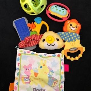 赤ちゃん用おもちゃセット