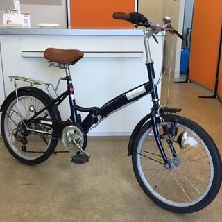 <動作>20インチ・折り畳み自転車・DESA FIO・シマノ6段変速