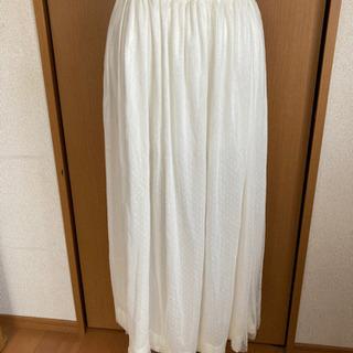 インナー付きロングスカート美品