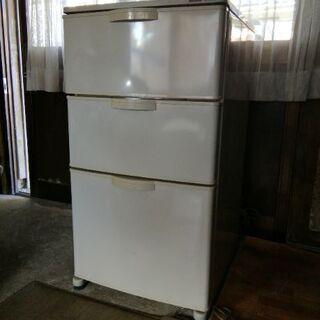 ナショナル 冷凍庫 三段扉  8千円