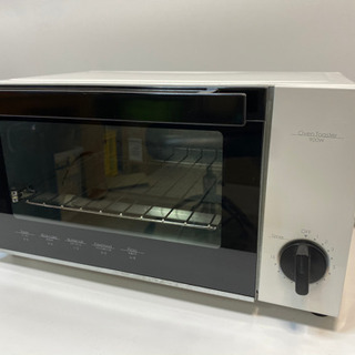 美品◆オーブントースター900W シンプルデザイン