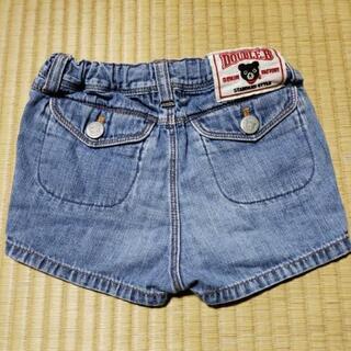 子供服★DOUBLE-B★デニム★半ズボン★90cm
