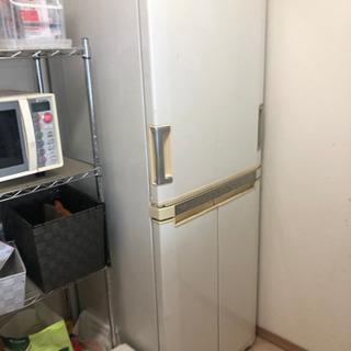 大容量 sharp 冷蔵庫 2003年製