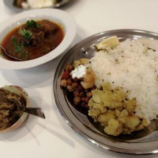 \インド家庭料理スパイスランチ/