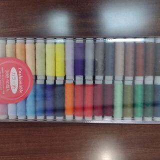 【新品未開封品】カラー糸 38色 40個入り