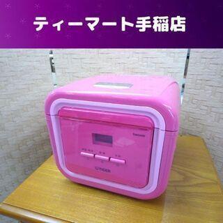 タイガー マイコン炊飯ジャー 3合炊 2013年製 パッションピ...