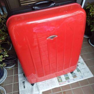 スーツケース キァリーバック エスケープ escape's  レッド