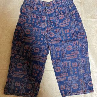 130cm Wrangler パンツ2枚で 男女兼用