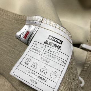 【中古】防炎カーテン 2枚セット - 家具