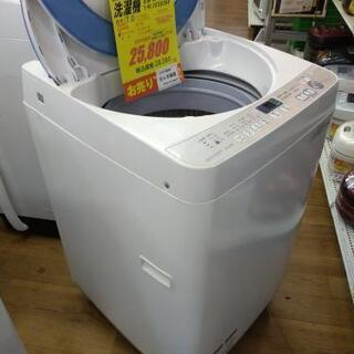 J058★6ヶ月保証★7K洗濯機★SHARP ES-GE70R-A 2016年製  - 売ります・あげます