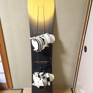 スノーボード 板 ビィンディング