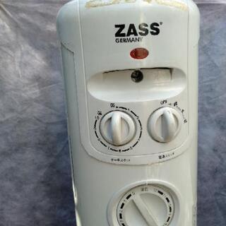 【ネット決済】ZASS オイルヒーター ホワイト (ZR-1208T)