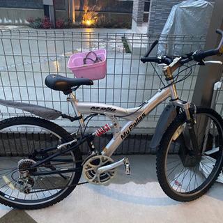 【お取引中】自転車 ☆多少お値段交渉ご検討させて頂きますの画像
