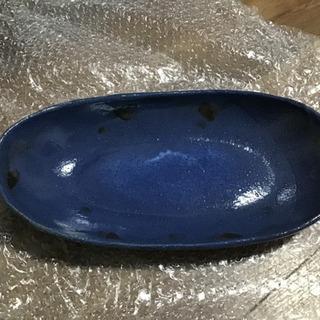 綺麗なブルーのお皿 未使用