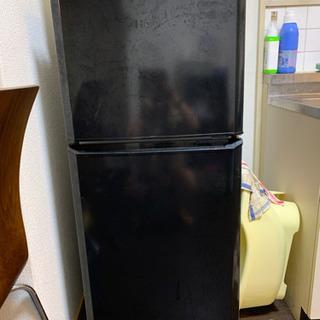 冷蔵庫 ブラック