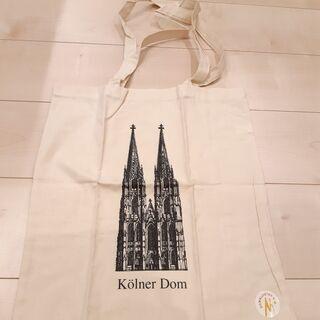 ドイツ ケルン大聖堂 トートバッグ
