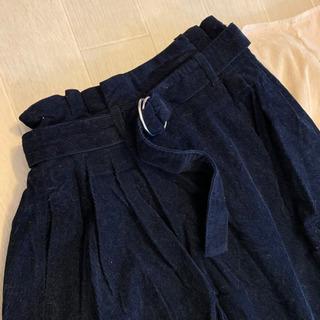 コーデュロイスカート 3点セットの画像