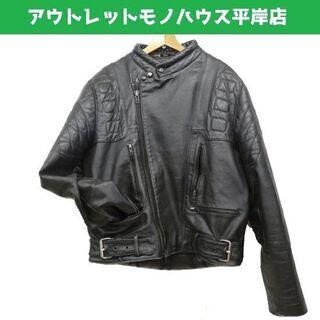 OPEN ROAD 本革 レザー 革ジャン ライダースジャケット...