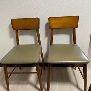 椅子 2脚の画像