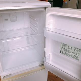 【123M6】SHARP ノンフロン冷凍冷蔵庫 SJ-14K
