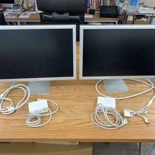 Apple cinema display 20インチ お譲…
