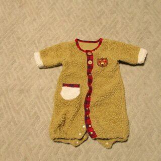 赤ちゃんの服:茶色:50~70センチ