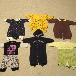 赤ちゃんの服:70センチ6点