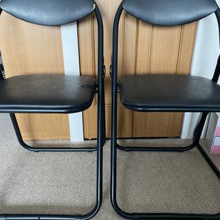 パイプ椅子二脚差し上げます